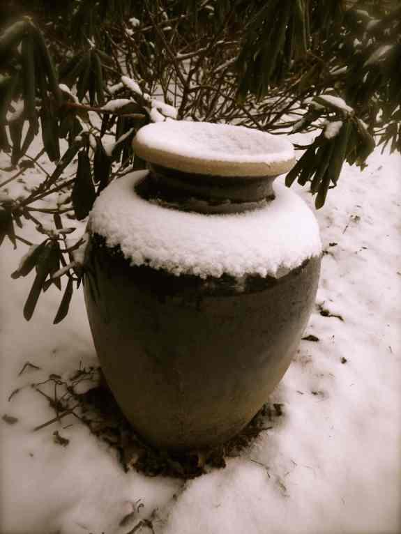 Ode on a frozen urn.