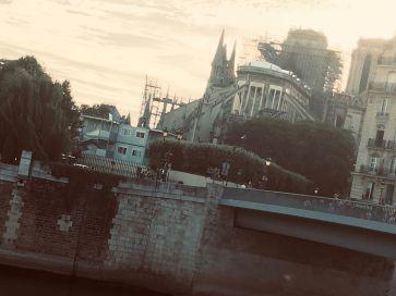 Notre Dame in summer 2019